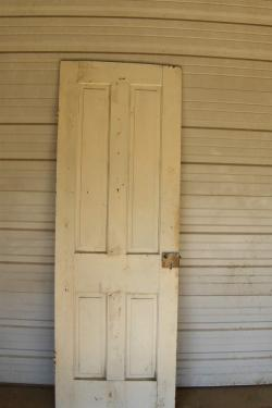 "#21	Raised Panel Door 	29 15/16"" x 78 ¼"" x 1 1/8""	$ 250.00"